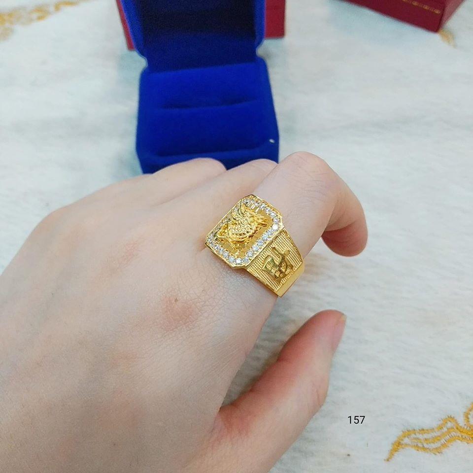 Nhẫn nam vàng 10k