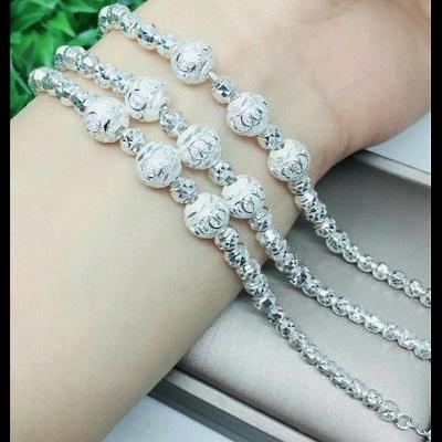 Lắc tay bạc cao cấp cho nữ